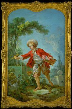 The Gardener, 1754-55 by Jean Honore Fragonard, Detroit Institute of Arts