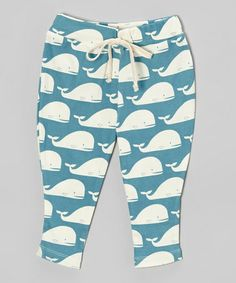 Another great find on #zulily! Blue Whale Organic Pants - Infant by zebi #zulilyfinds