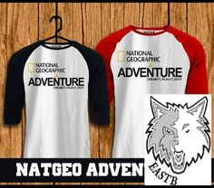 national geographic raglan from ocean seven 100% cotton  online t-shirt