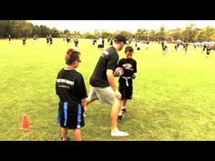Gauntlet - Flag Football Flag Pulling Drill - YouTube