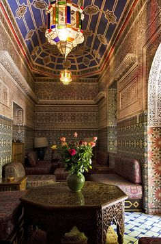 Marrakech - Get the look with stunning and authentic Moroccan pieces at MIX! Moroccan Art, Moroccan Interiors, Moroccan Design, Moroccan Style, Moroccan Bedroom, Moroccan Lanterns, Riad Marrakech, Marrakesh, Islamic Architecture