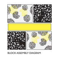 Modern easy quilt pattern