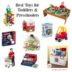 Wondering what to buy your child for Christmas. I am sharing our best toys for toddlers and preschoolers that have been loved by all three of our kids.