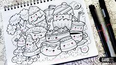 Kawaii Food - Hello Doodles - Easy and Kawaii Drawings by Garbi KW