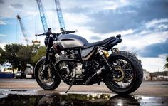 Cb400 Cafe Racer, Cafe Racer Bikes, Xjr 1300, Super 4, Café Racers, Ghost Rider, Scrambler, Custom Bikes, Motorbikes
