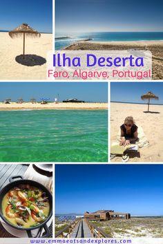 Ilha Deserta, Faro, Algarve, Portugal by Emma Eats & Explores