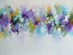 These Days - Large Original Abstract Expressionist Painting on Canvas