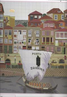 Gallery.ru / Фото #218 - melhor de Portugal em ponto de cruz - Ulrike