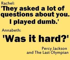 Lol Annabeth