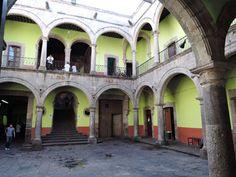 Akademik Uniwersytetu Michoacan. fot. Paweł Trefler