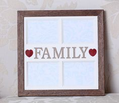 Check out this item in my Etsy shop https://www.etsy.com/uk/listing/265800748/family-multi-photo-frame