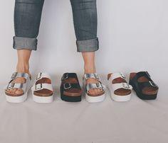 ¡Las sandalias son para el verano! Más de 500 modelos a tu disposición