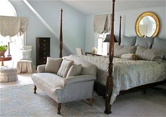 SW sleepy blue 6225 - Blue And Gold Bedroom Design Ideas, Pictures, Remodel, and Decor - page 4