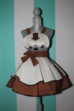 @Hailee Hove--Appa Avatar the Last Airbender Cosplay Apron Pinafore. $85.00, via Etsy.