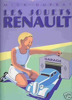 affiches  jouet Renault
