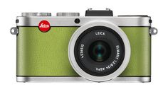 Silver front in apple green Leica X2 à la carte