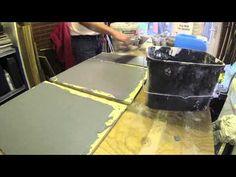 Geef je trap een betonlook uitstraling met mortel of verf