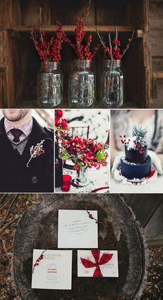 Picks on Paper - Winter Wedding Details