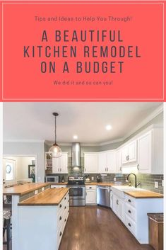 Inspiring Small kitchen remodel ideas on a budget,Design kitchen cabinet layout online and Kitchen remodel using existing cabinets. Budget Kitchen Remodel, Kitchen Cabinet Remodel, Kitchen On A Budget, Diy Kitchen, Kitchen Decor, Kitchen Ideas, Awesome Kitchen, Kitchen Storage, Summer Kitchen