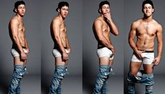 Nick Jonas!! What happened to you??! Not complaining, but...dang, boy!
