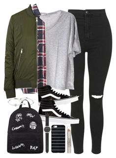 """""""Outfit for university in winter"""" by ferned on Polyvore featuring Topshop, Clu, WithChic, Vans, Mini Cream, J.Crew and Zimmermann"""