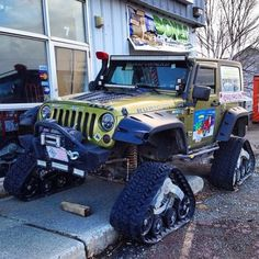 I may need this on my jeep if we get too much snow this winter!