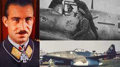 High-Ranking Luftwaffe General Risks His Life To Reject Hitler On The Me 262 Luftwaffe, Adolf Galland, Ww2 Aircraft, Fighter Aircraft, Military Aircraft, Fighter Pilot, Fighter Jets, Me262, Messerschmitt Me 262