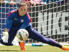 Meet Hope Solo, Alex Morgan, Megan Rapinoe and the rest of the U.S. Women's ... Hope Solo  #HopeSolo