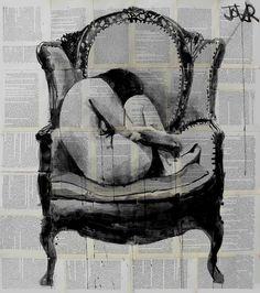 the chair, Loui Jover