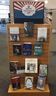 Check out some of our past presidents at the Lackman Library this month! Library Book Displays, Library Ideas, Library Books, Happy Presidents Day, Past Presidents, Library Quotes, Day Book, Media Center, Book Nooks