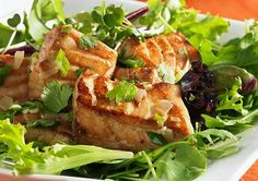 12 Hunger-Fighting Power Salads - Even though these 12 salads are less than 400 calories, they're packed with lean protein, fiber-filled toppings, and the right amount of heart-healthy fat. Each rib-sticking, healthy recipe will fill you up so you won't cave to a cookie craving two hours later!