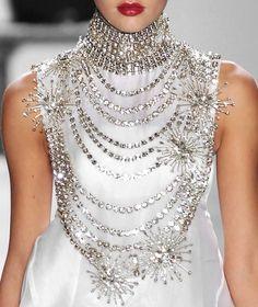 Bejeweled Couture  #RandomActsOfAdornment