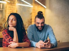 Feel like you're always a third wheel when it comes to your partner and their phone? Here's what you should do.
