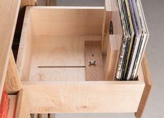 Burke & Marshall is a small business producing quality handmade furniture in Bristol. Vinyl Shelf, Vinyl Record Storage, Lp Storage, Vinyl Record Cabinet, Handmade Furniture, Diy Furniture, Gothic Furniture, Lp Regal, Record Rack