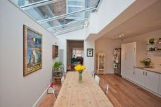 RIBA Architects Altricham - Open plan, light, open plan kitchen diner in Victorian Home