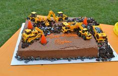 Digger Cake - For Adam's Birthday