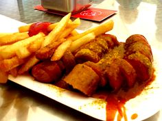 Curry wurst- a German delicacy