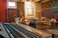 Neve 8088 console in the Adobe Studio at Sonic Ranch Studio Gear, Studio Setup, Recording Studio Design, Home Studio Music, Office Workspace, Sound Design, Game Room, Ranch, Adobe