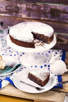 Isteni süti Nápolyból: Caprese torta | Street Kitchen Pound Cake, Cake Cookies, Vanilla Cake, Tiramisu, Paleo, Food And Drink, Gluten Free, Sweets, Baking