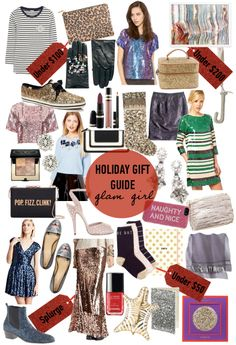 Holiday Gift Guide: Glam Girl