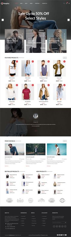 Inspira is a wonderful responsive #WooCommerce #WordPress theme for stunning #eCommerce website with 6 unique homepage layouts download now➩  https://themeforest.net/item/inspira-multipurpose-responsive-woocommerce-wordpress-theme/19236746?ref=Datasata