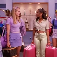 """""""cher & dionne's outfits from clueless"""" Cher Clueless Outfit, Clueless Fashion, 90s Fashion, Fashion Outfits, Clueless Cher And Dionne, Dionne Clueless Outfits, Clueless 1995, Decades Fashion, Early 2000s Fashion"""