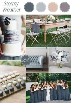 Neutral Wedding Colors, Winter Wedding Colors, Wedding Color Schemes, August Wedding Colors, April Wedding, Winter Colors, Autumn Wedding, Neutral Colors, Blue Wedding