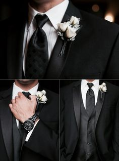 Wedding in black