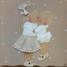Cuadros De Bebés Artesanales Y Personalizados BB  Decor Child