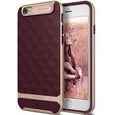 Caseology Parallax Series iPhone Cover Case with Design Slim Protective for Apple iPhone / iPhone 6 - Burgundy Apple Iphone, Iphone 6, Iphone Design, Burgundy, Slim, Cover, Wine Red Hair, Blankets