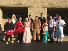 BeltOutlet.com has gone Disney! Can you name all of the characters in this picture? #HappyHalloween
