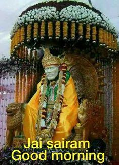 Thursday Morning Quotes, Shirdi Sai Baba Wallpapers, Lord Vishnu Wallpapers, Om Sai Ram, Good Morning Images, Messages, God, Sayings, Dios