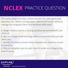 #nclexprep #freenclexpractice #nclexstudyguide Nclex Practice Questions, Nclex Questions, Nclex Rn Review, Kaplan Nursing, Nclex Exam, Nursing Students, Nursing Schools, Test Prep, Prepping