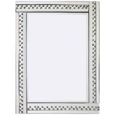 Glitz Silver Mirror 60x80cm